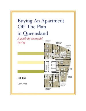 Buying An Apartment Off The Plan in Queensland