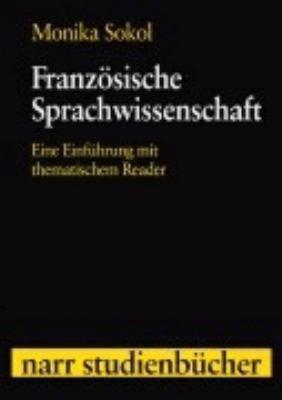 Franz  sische Sprachwissenschaft PDF