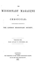 The Missionary Magazine and Chronicle PDF