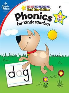 Phonics for Kindergarten  Grade K Book
