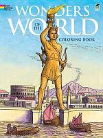 Wonders of the World Coloring Book PDF