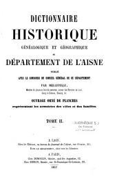 Dictionnaire historique, généalogique et géographique du département de l'Aisne