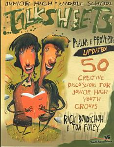 Junior High and Middle School Talksheets Psalms and Proverbs Book