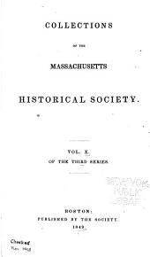 Collections of the Massachusetts Historical Society: Volume 30