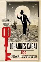 Johannes Cabal  The Fear Institute PDF
