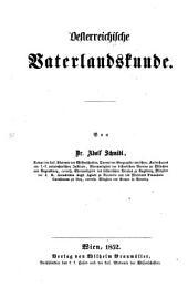 Oesterreichische Vaterlandskunde