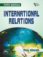 INTERNATIONAL RELATIONS  Fifth Edition PDF