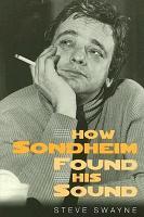 How Sondheim Found His Sound PDF