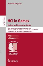 HCI in Games: Serious and Immersive Games