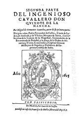 El ingenioso hidalgo Don Quixote de la Mancha: Volumen 2