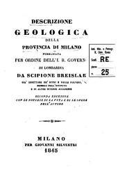 Descrizione geologica della provincia di Milano