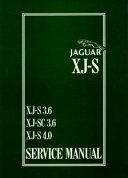 Jaguar Xj-S Xj-SC 36 Xj-S 40 W
