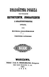 Starożytna Polska: pod względem historycznym, jeograficznym i statystycznym, Tom 3