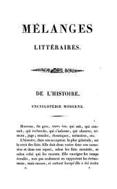 Mélanges historiques et littéraires: Volume2
