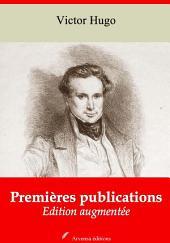 Premières publications: Nouvelle édition augmentée
