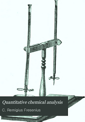 Quantitative Chemical Analysis: Volume 1