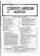 Scientific American Monthly: Volume 3