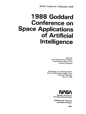 1988 Goddard Conference on Space Applications of Artificial Intelligence PDF