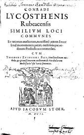 Similium loci communes ...