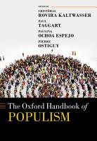 The Oxford Handbook of Populism PDF