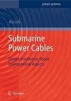 Submarine Power Cables PDF