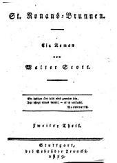 St. Ronans-Brunnen: ein Roman, Band 2