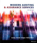 Modern Auditing   Assurance Services