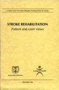 Stroke Rehabilitation PDF