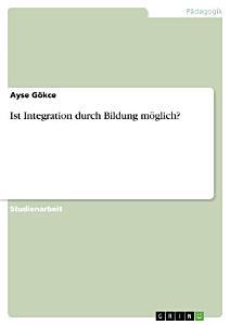 Ist Integration durch Bildung m  glich  PDF