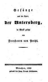 Gesänge aus der Oper der Untersberg