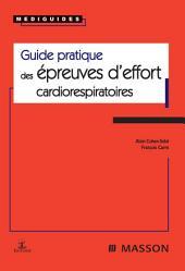Guide pratique des épreuves d'effort cardiorespiratoires