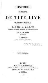 Histoire romaine de Tite Live
