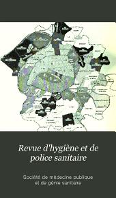 Revue d'hygiène et de police sanitaire: Volume26