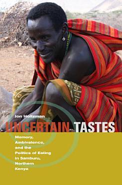 Uncertain Tastes PDF