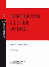 Introduction à l'étude du droit: No16 - 3ème édition