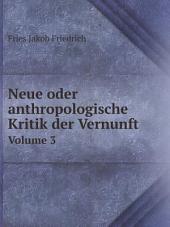 Neue oder anthropologische Kritik der Vernunft