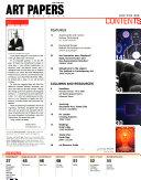 Art Papers Magazine