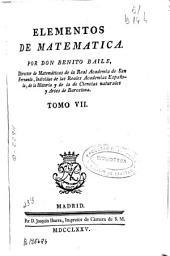 Elementos de matemáticas ...: Volumen 7