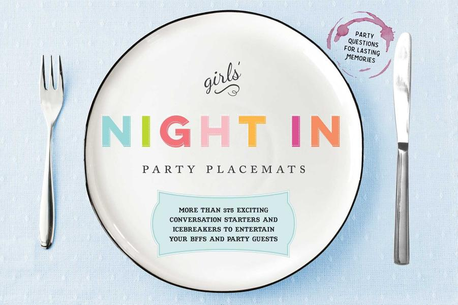 Download Girls  Night In Party Placemats Book