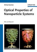 Optical Properties of Nanoparticle Systems PDF