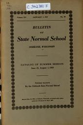 Bulletin: Volume 15, Issue 59