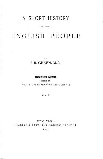 A Short History of the English People PDF