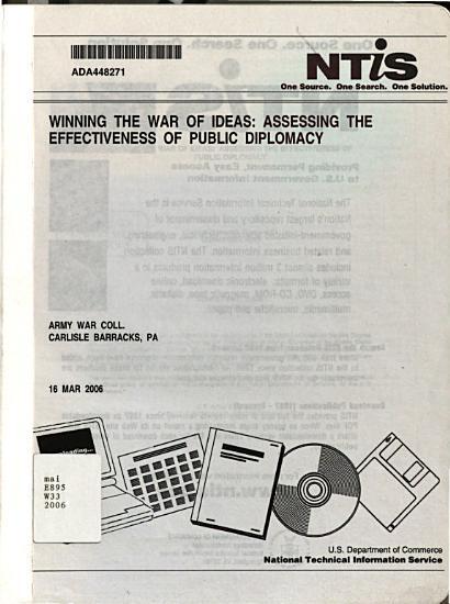 Winning the War of Ideas PDF