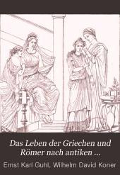 Das Leben der Griechen und Römer: nach antiken Bildwerken dargestellt