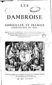 Les oeuures d'Ambroise Pare', conseiller et premier chirurgien du roy