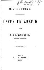 H.J. Budding: Leven en Arbeid