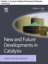 New and Future Developments in Catalysis: Chapter 2. Current Catalytic Processes for Biomass Conversion
