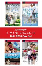 Harlequin Kimani Romance May 2018 Box Set: An Anthology
