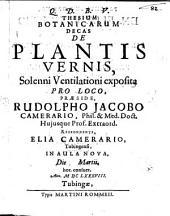 Thesium botanicarum decas de plantis vernis