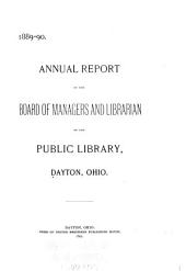 Annual Reports of the Dayton Public Library and Museum